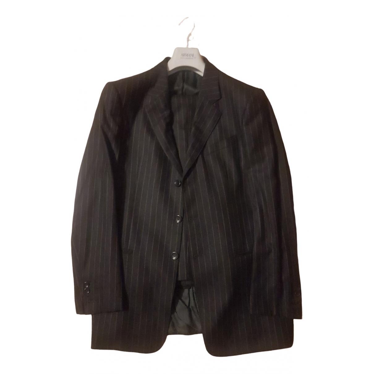 Armani Collezioni \N Anzuege in  Grau Wolle