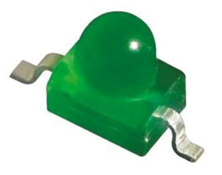 Kingbright 2.5 V Green LED Subminiature SMD,  KM2520SGD03 (5)