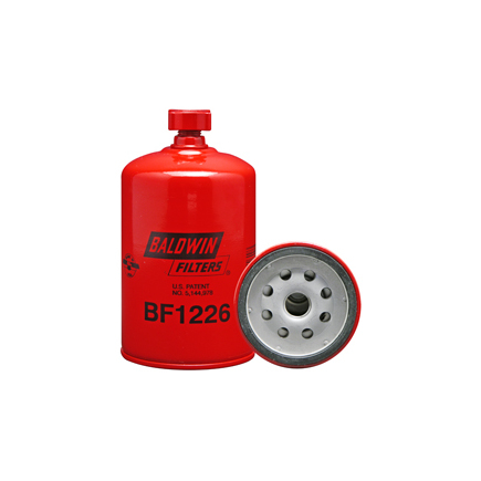 Baldwin BF1226 - Fuel/Water Separator Spin On With Drain For Cummin...