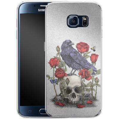 Samsung Galaxy S6 Silikon Handyhuelle - Memento Mori von Terry Fan
