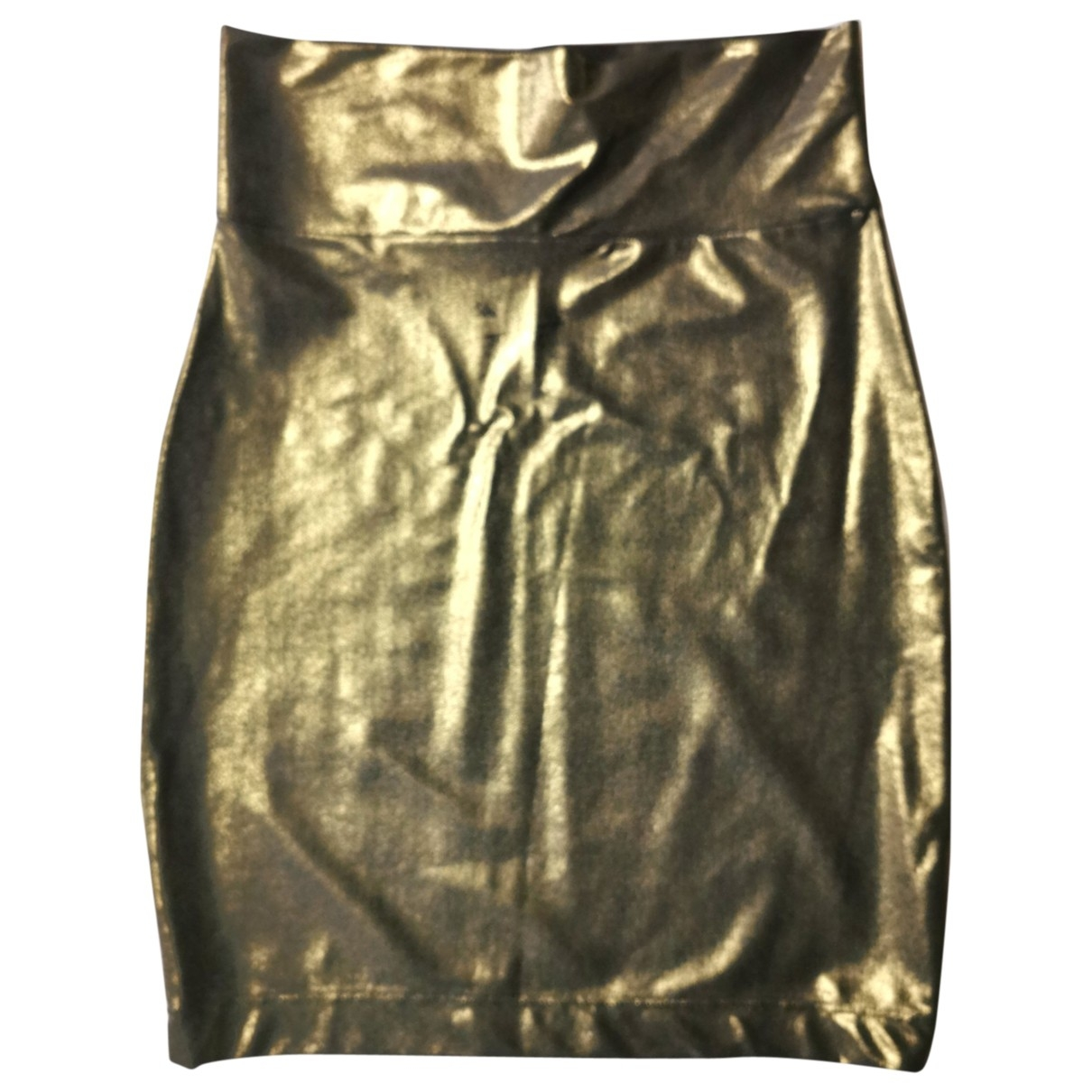 Non Signe / Unsigned \N Rocke in  Gold Polyester