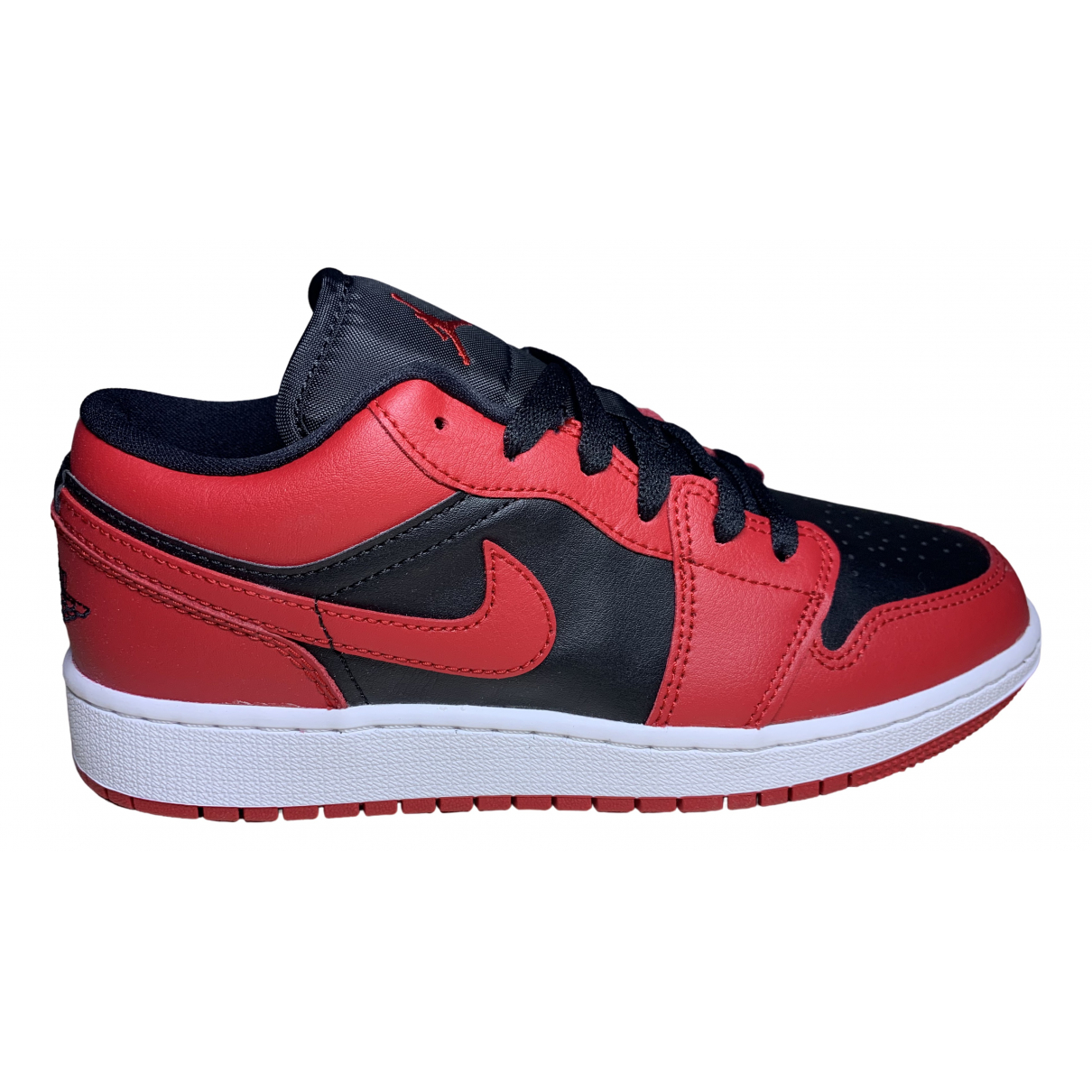 Jordan Air Jordan 1  Sneakers in  Rot Kunststoff