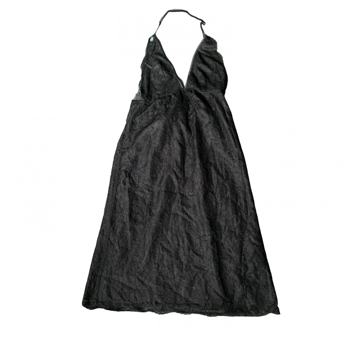 Ann-sofie Back \N Kleid in  Schwarz Polyester