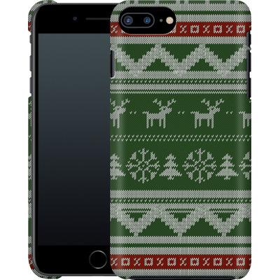 Apple iPhone 7 Plus Smartphone Huelle - Norwegian Jumper Green von caseable Designs
