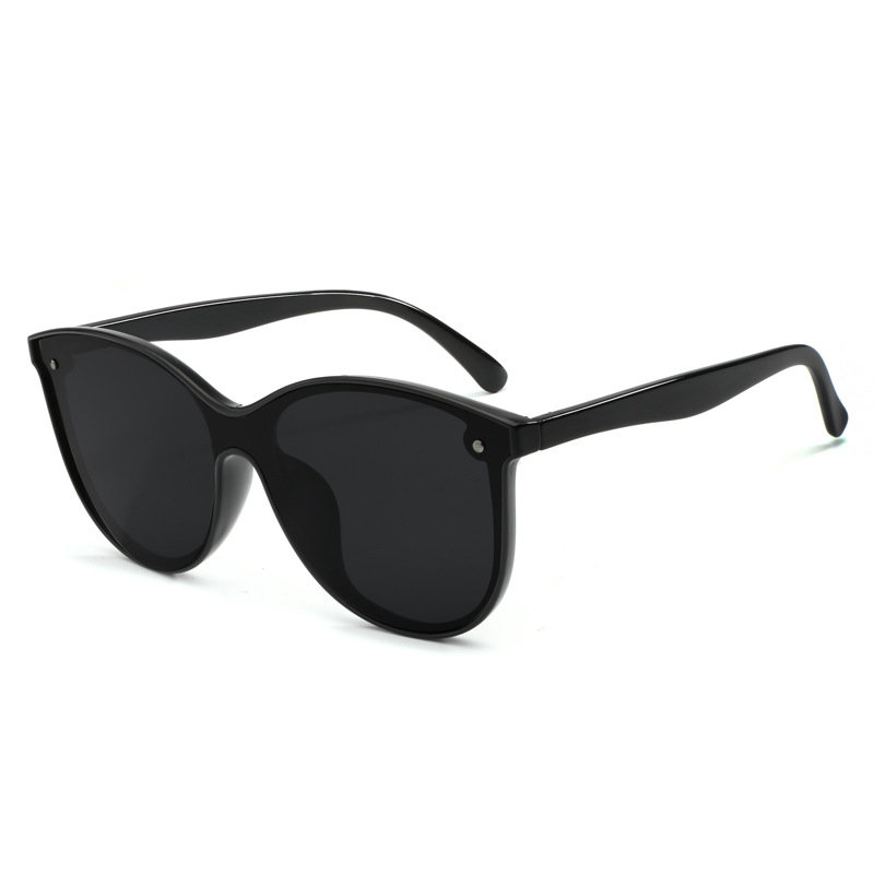 Men Womens Square Vogue Polarized Sunglasses Yellow Night Vision Goggles PC Outdoor Sunglasses