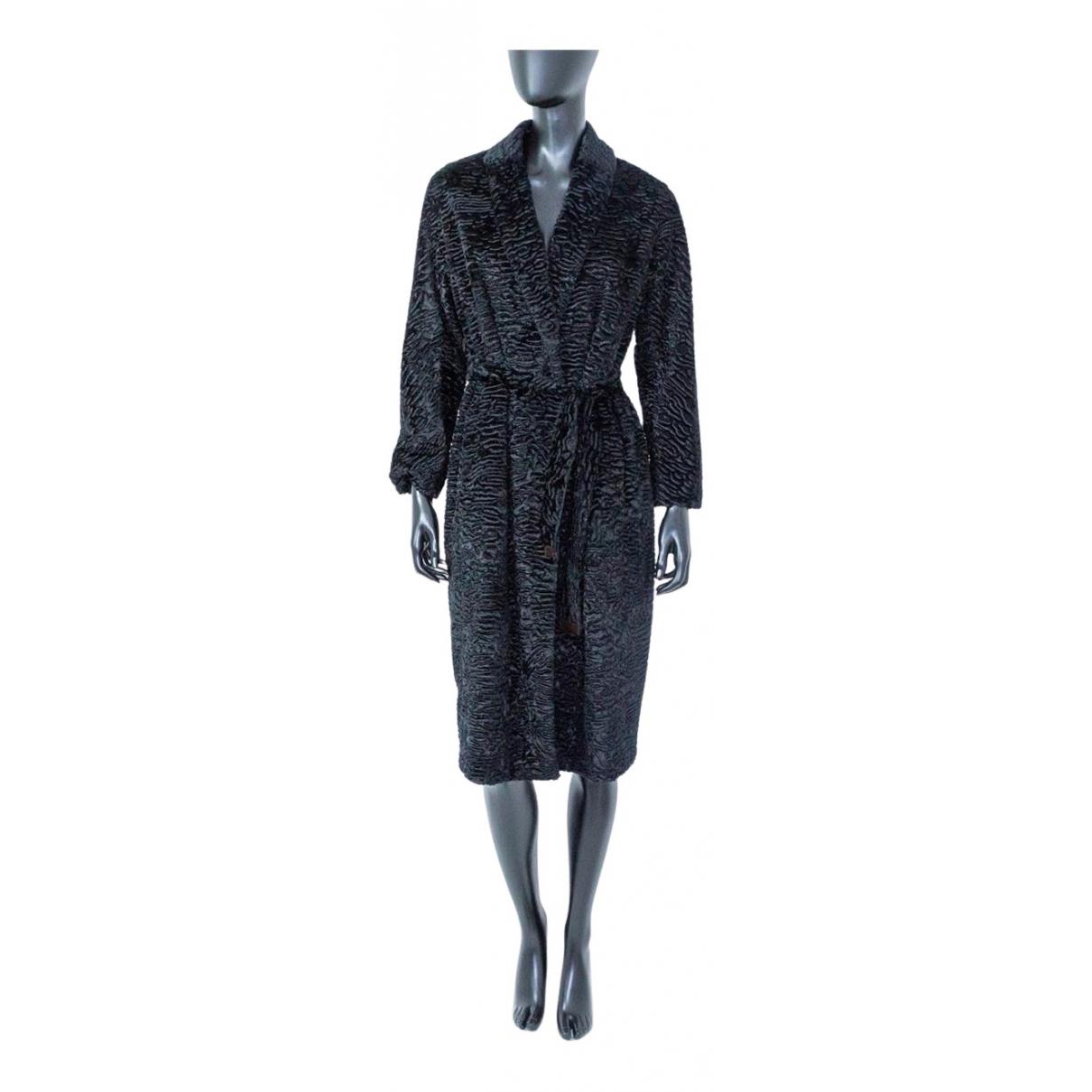 Max Mara - Manteau   pour femme - noir