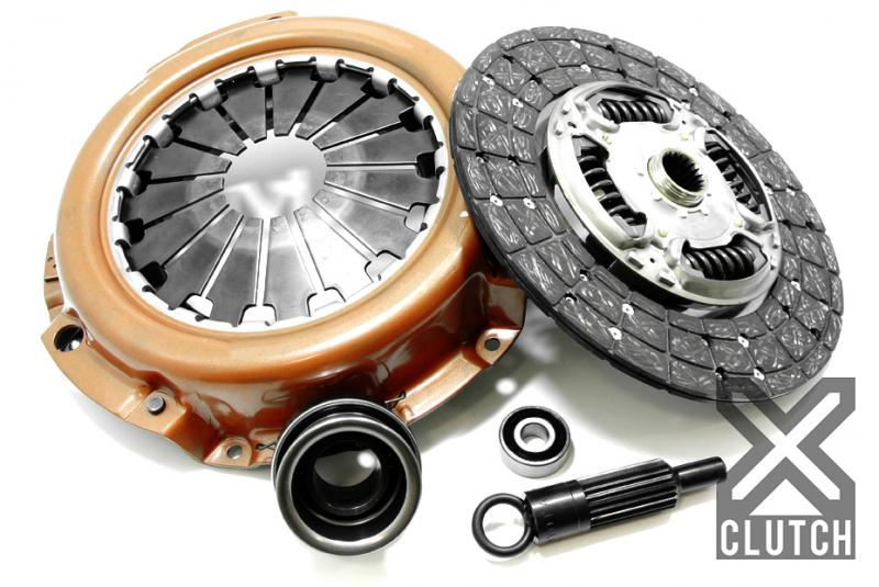 XClutch XKTY28003-1AX Clutch Kit Stage 1X Single Sprung Organic Disc with Heavy Duty Cover