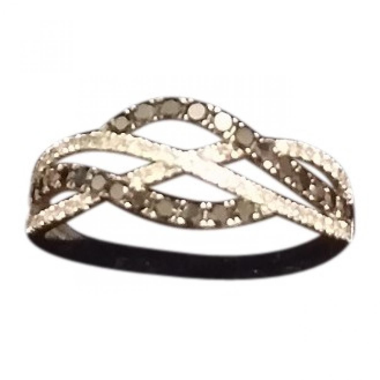- Bague   pour femme en or blanc - blanc