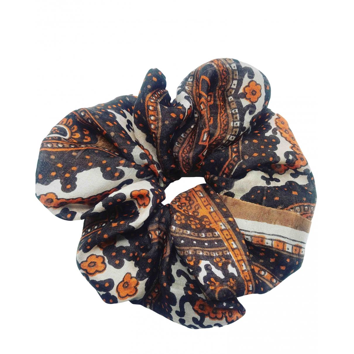 - Bijoux de tete   pour femme en soie - multicolore