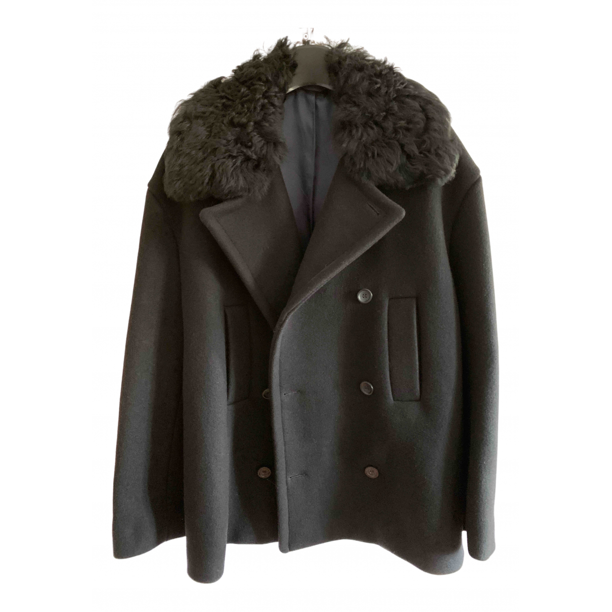 Acne Studios N Grey Mongolian Lamb jacket  for Men M International