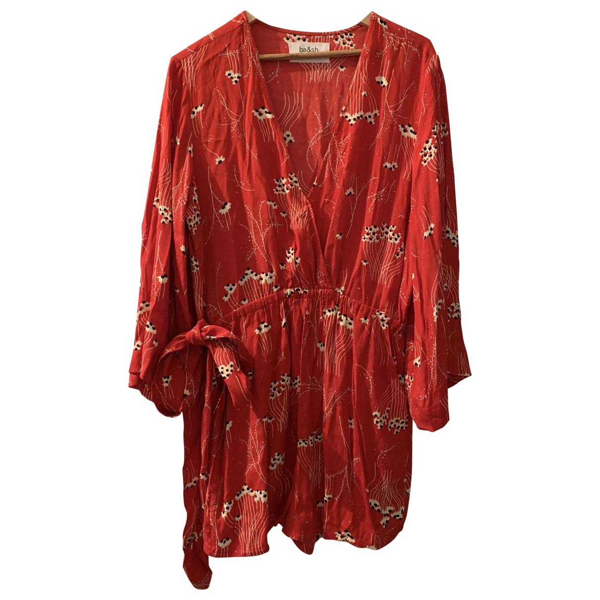Ba&sh \N Kleid in  Rot Viskose