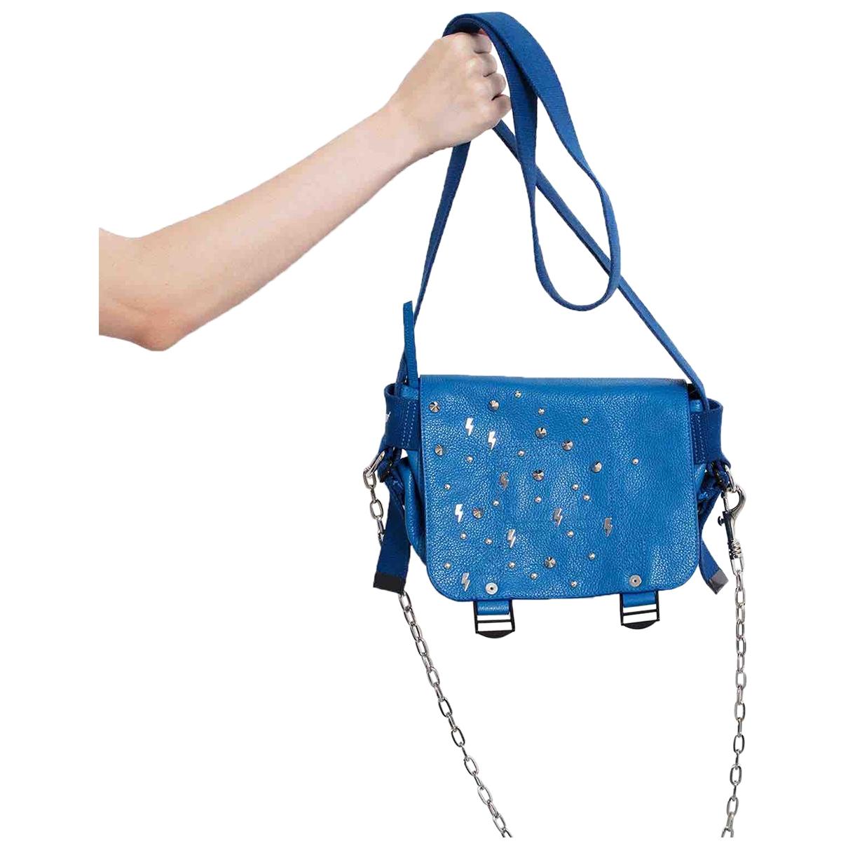 Zadig & Voltaire \N Blue Leather handbag for Women \N