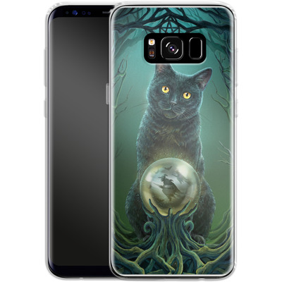 Samsung Galaxy S8 Silikon Handyhuelle - Rise of the Witches von Lisa Parker