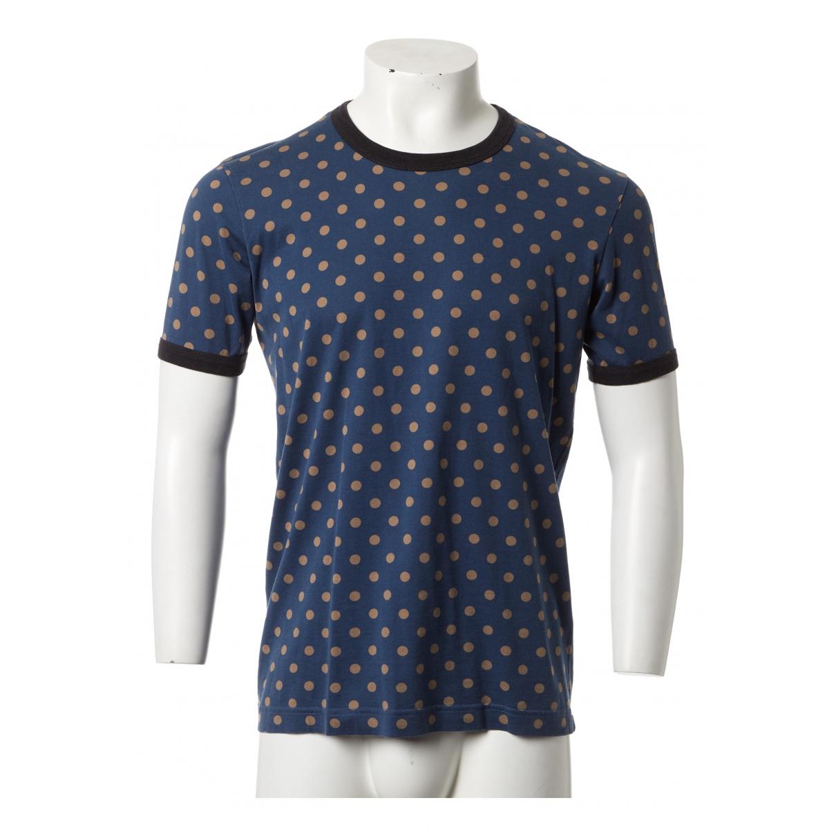 Dolce & Gabbana \N Blue Cotton T-shirts for Men XL International