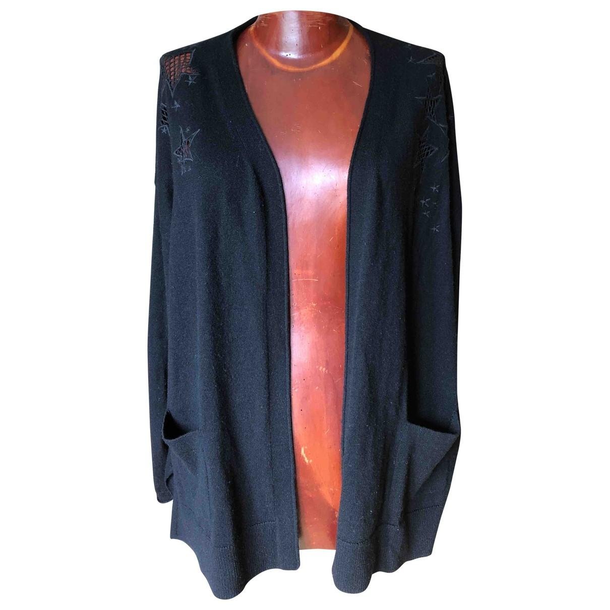 Gerard Darel \N Pullover in  Schwarz Wolle