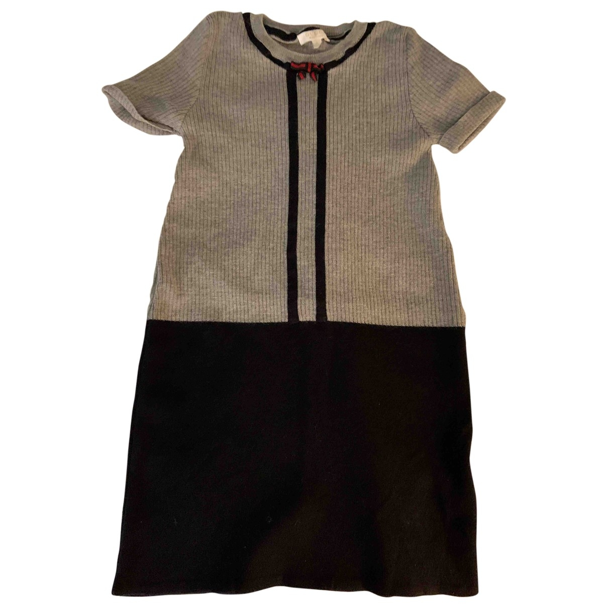 Gucci \N Grey Wool dress for Kids 6 years - up to 114cm FR