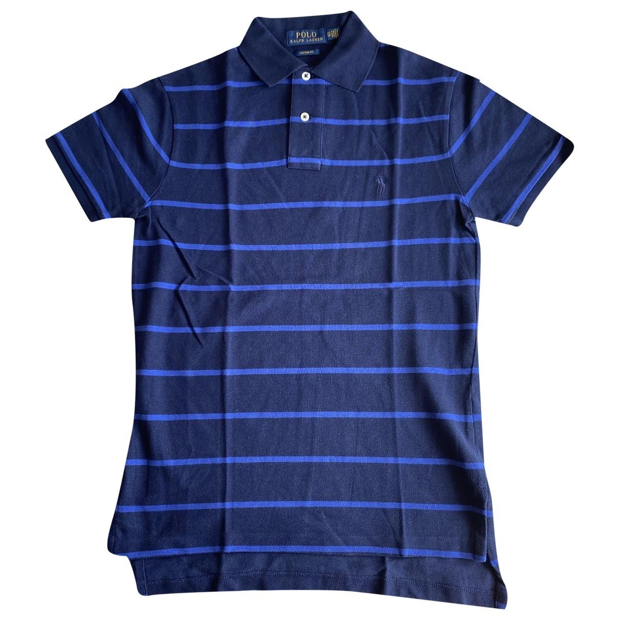 Polo Ralph Lauren \N Blue Cotton Polo shirts for Men XS International