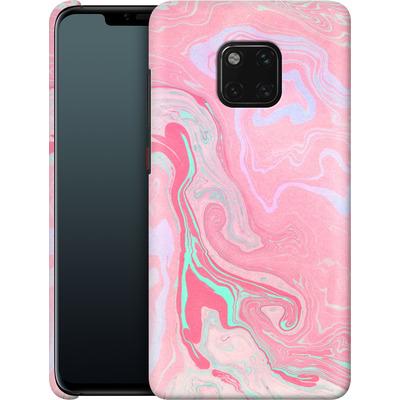 Huawei Mate 20 Pro Smartphone Huelle - Marbled Effect Pink von Emanuela Carratoni