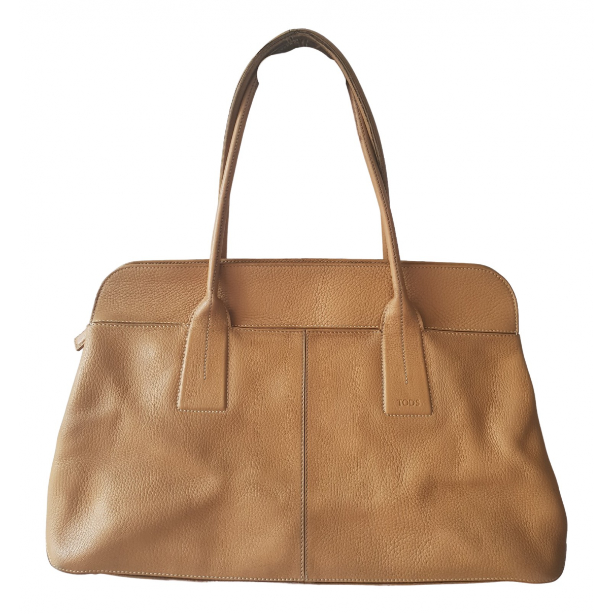 Tod's \N Camel Leather handbag for Women \N