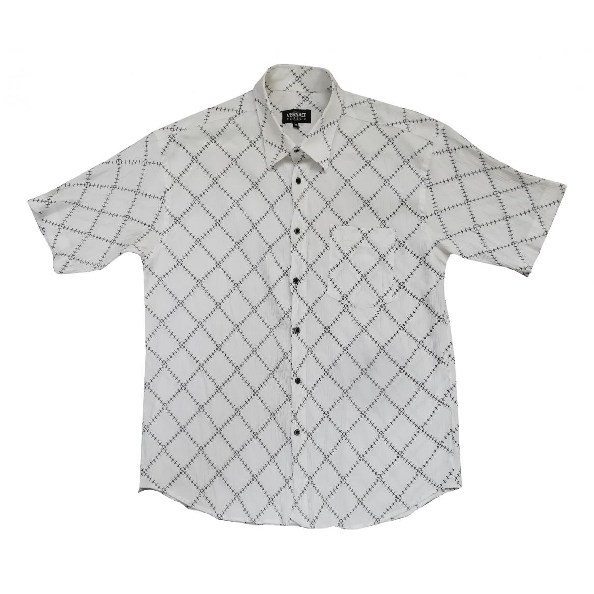 Versace - Chemises   pour homme en coton - blanc