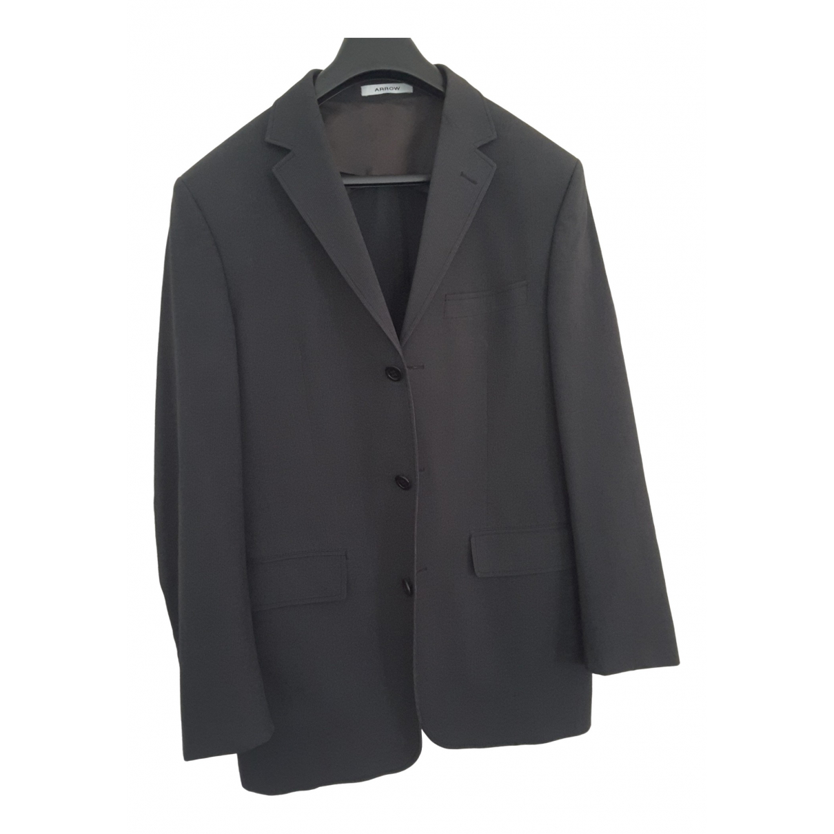 Non Signé / Unsigned \N Grey Cotton jacket  for Men S International