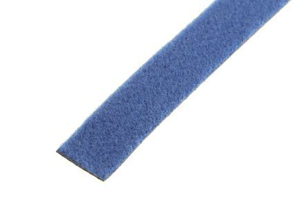 RS PRO Blue Hook & Loop Cable Tie, 5m x 16 mm