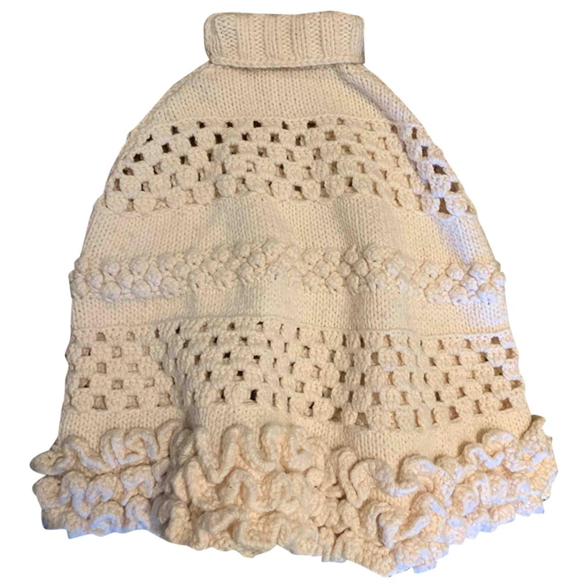 Miu Miu \N Ecru Wool jacket for Women 36 FR