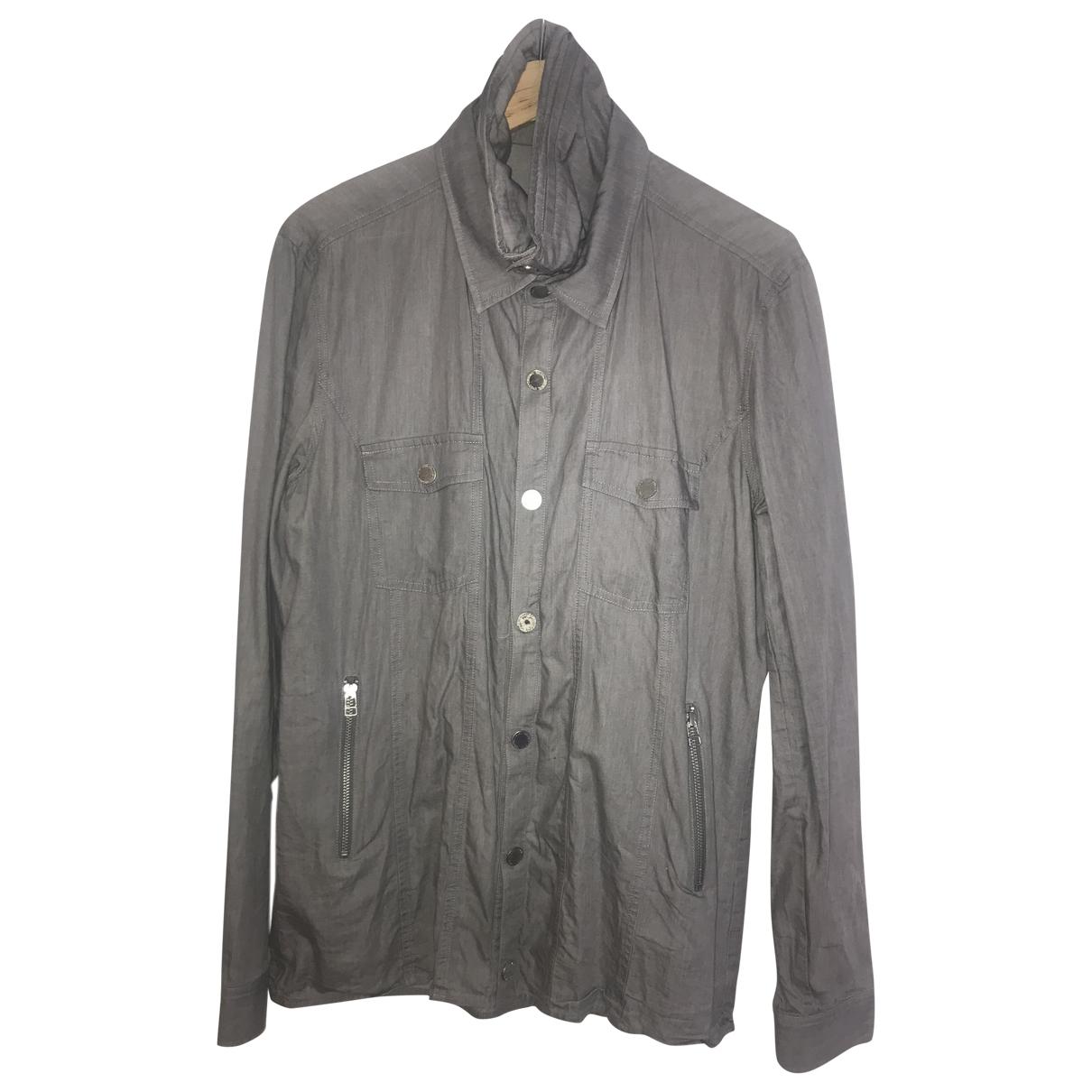 Unconditional \N Hemden in  Grau Baumwolle