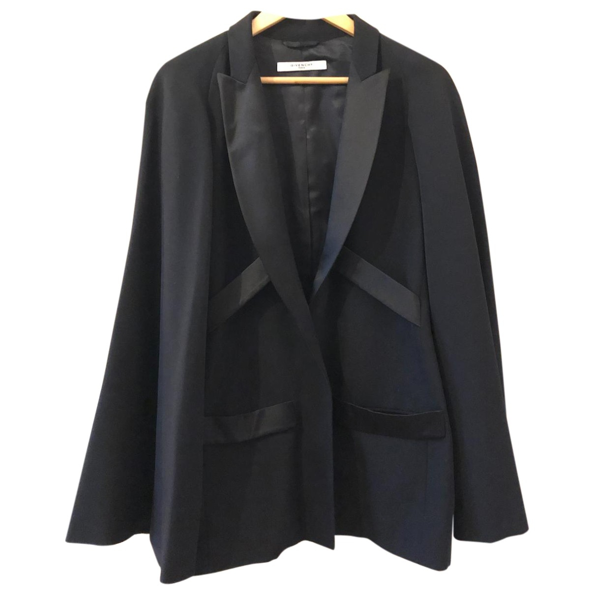 Givenchy \N Black Wool jacket for Women 40 FR