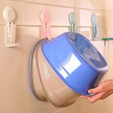 1 Stueck zufaellige Farbe Waschbeckenhalter aus Kunststoff