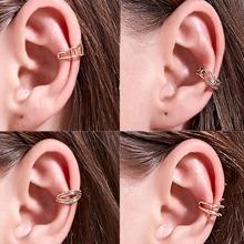 4pcs Simple Ear Cuff
