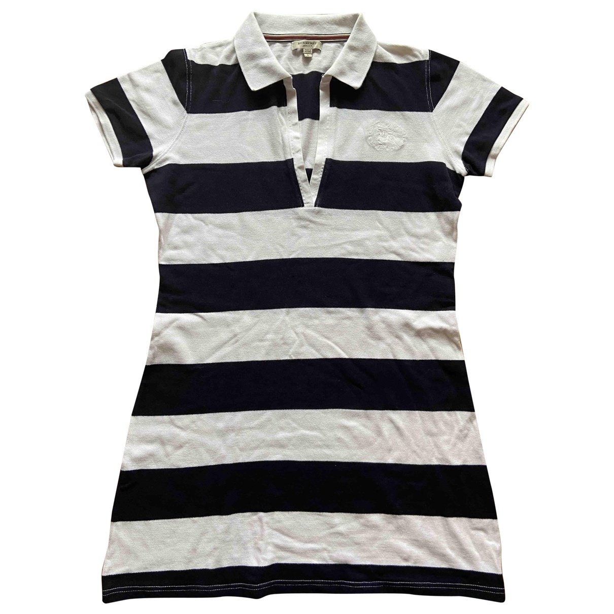 Burberry \N Navy Cotton dress for Women L International