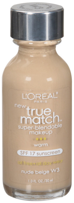 True Match Super-Blendable Foundation Makeup - Nude Beige