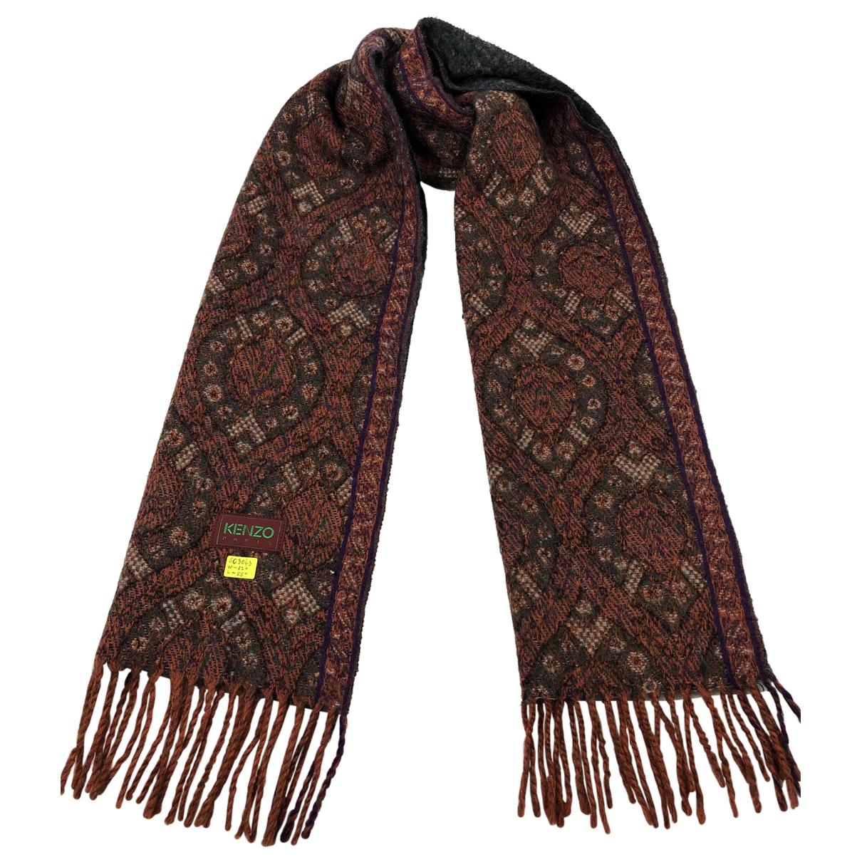 Kenzo - Foulard   pour femme en laine