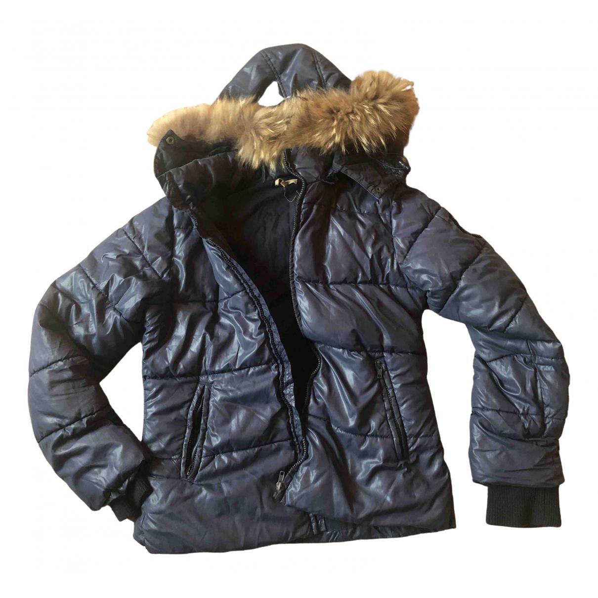 Bel Air - Manteau   pour femme - bleu