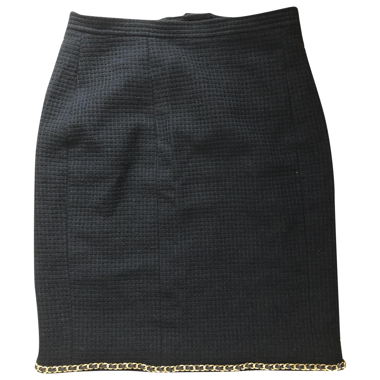 Chanel \N Black Tweed skirt for Women 42 FR
