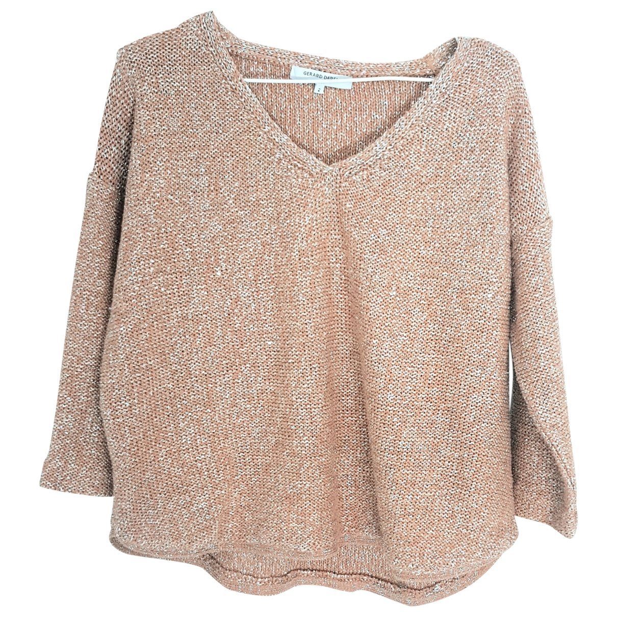 Gerard Darel \N Beige Cotton Knitwear for Women 2 0-5