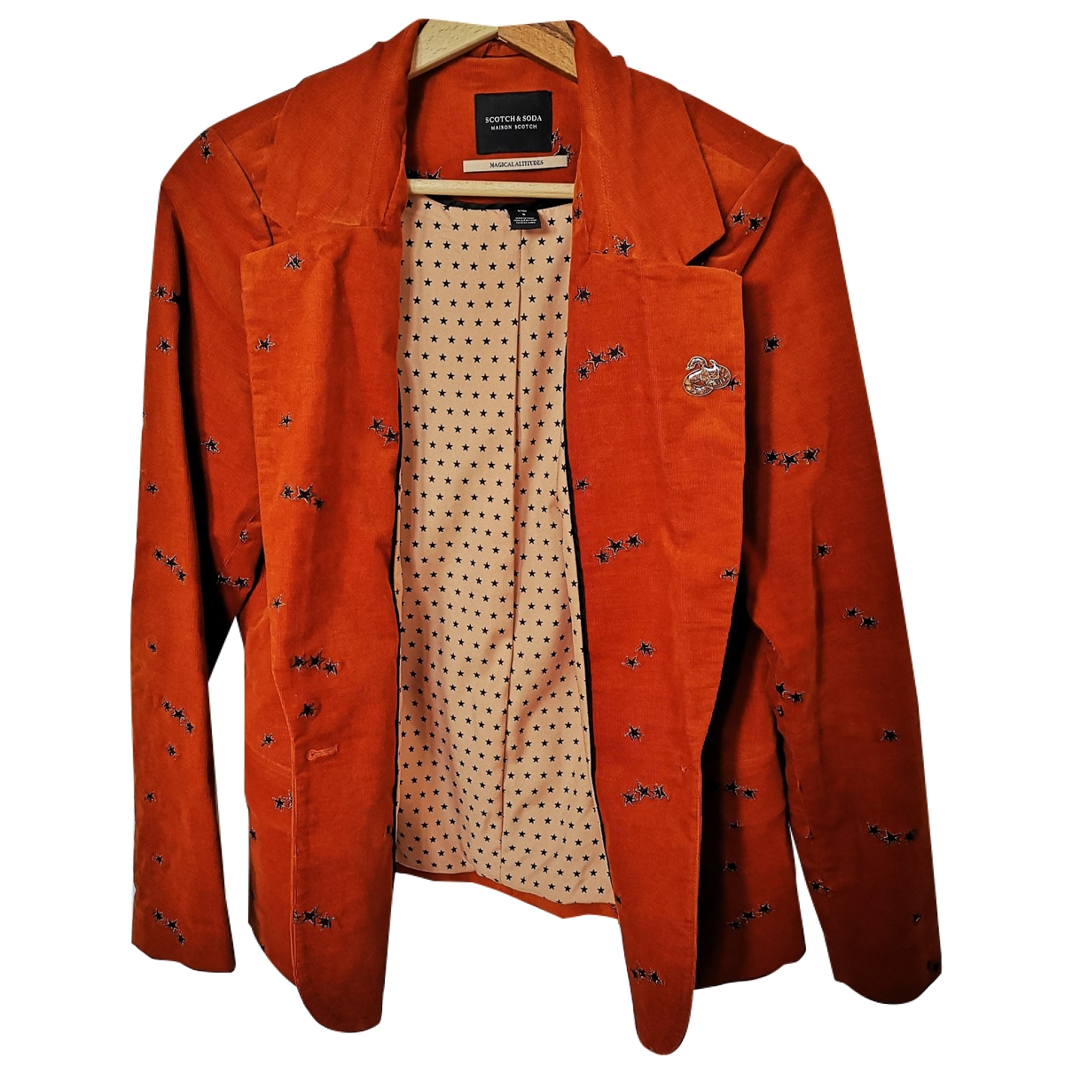 Scotch & Soda \N Orange Cotton jacket for Women 36 FR