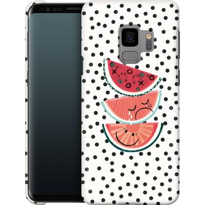 Samsung Galaxy S9 Smartphone Huelle - Watermelon von Victoria Topping
