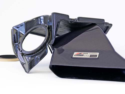 AWE Tuning 2660-11012 S-FLO Carbon Cover Audi S5 4.2L 08-16
