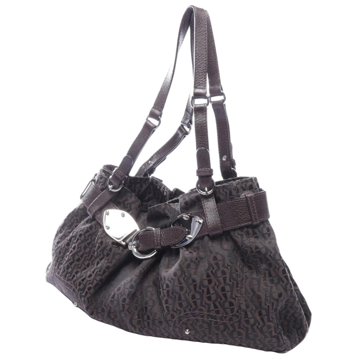 Aigner \N Brown Cloth handbag for Women \N