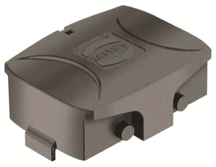 HARTING Han-Eco Series Protective Cover, For Use With Heavy Duty Power Connectors, Han Eco 10B