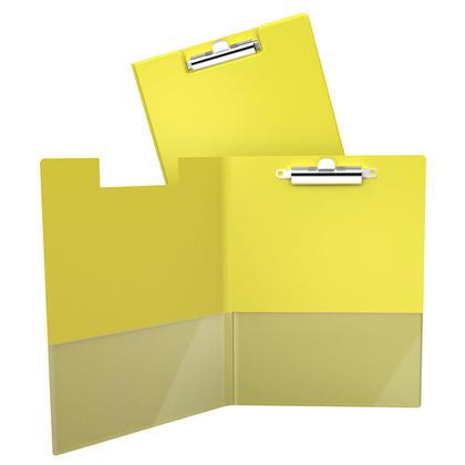 DavisGroup Planchette à pince essentiel, 8-1/2 x 11 (lettre), capacité de 100 feuilles - Jaune