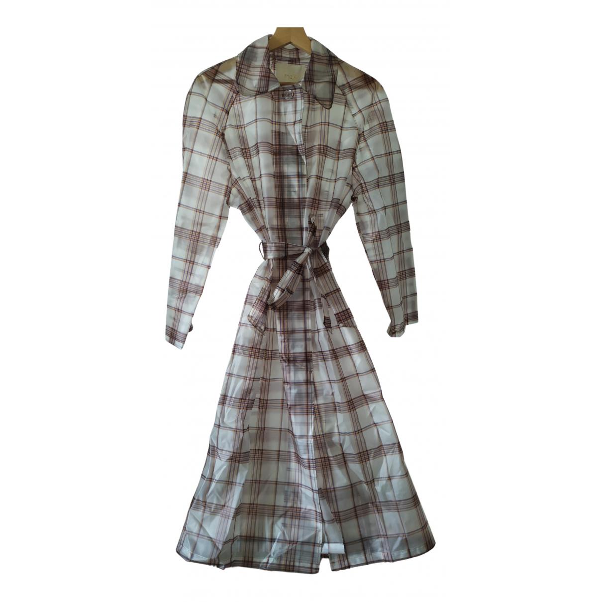 Maje Spring Summer 2019 Multicolour Trench coat for Women 36 FR