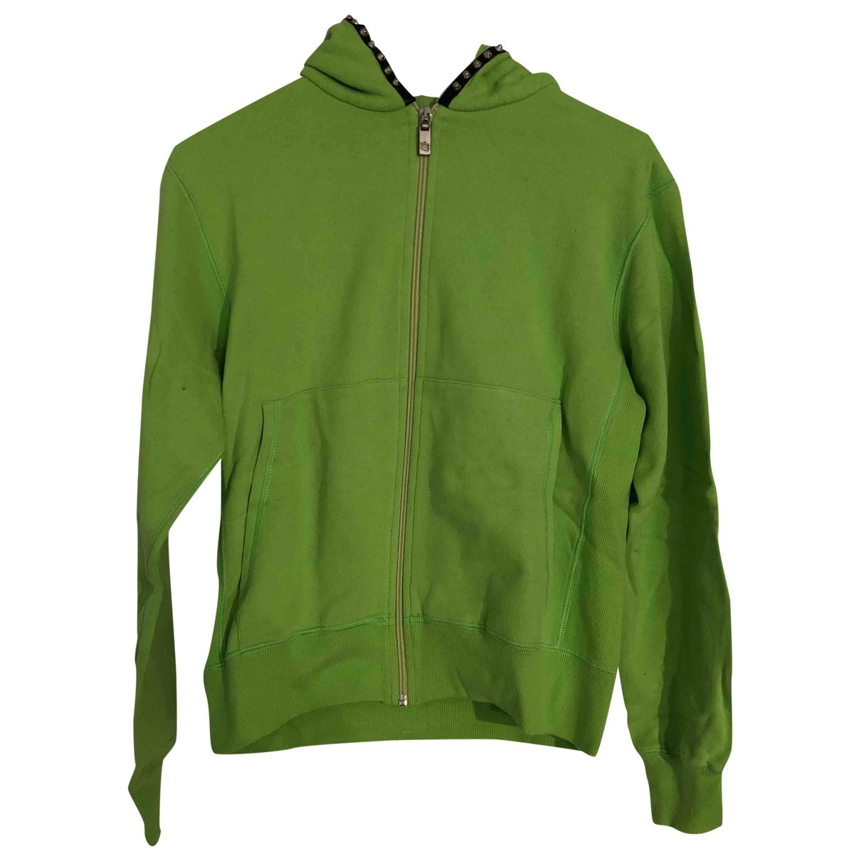 Lucien Pellat Finet \N Pullover.Westen.Sweatshirts  in  Gruen Baumwolle