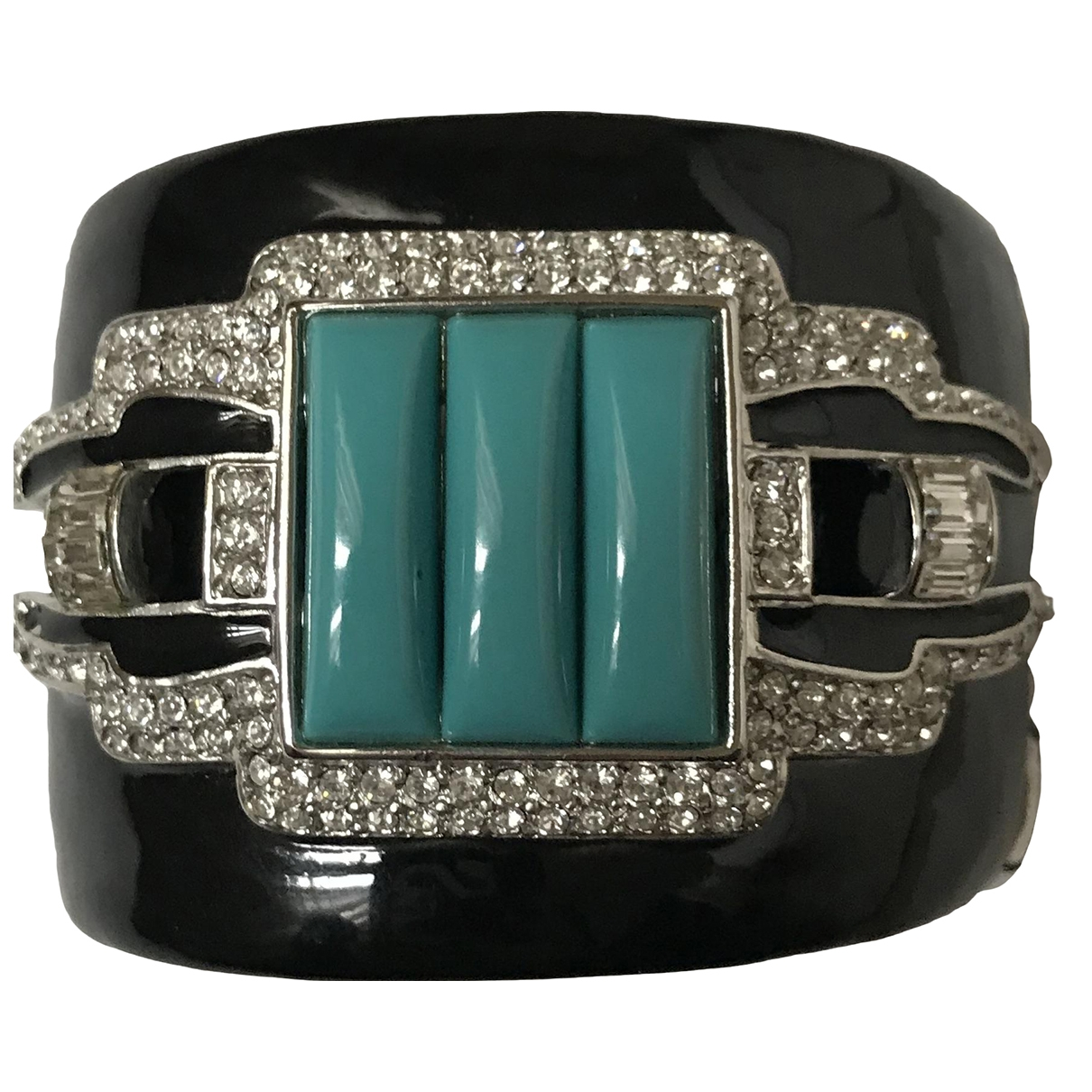 Kenneth Jay Lane \N Black Metal bracelet for Women \N