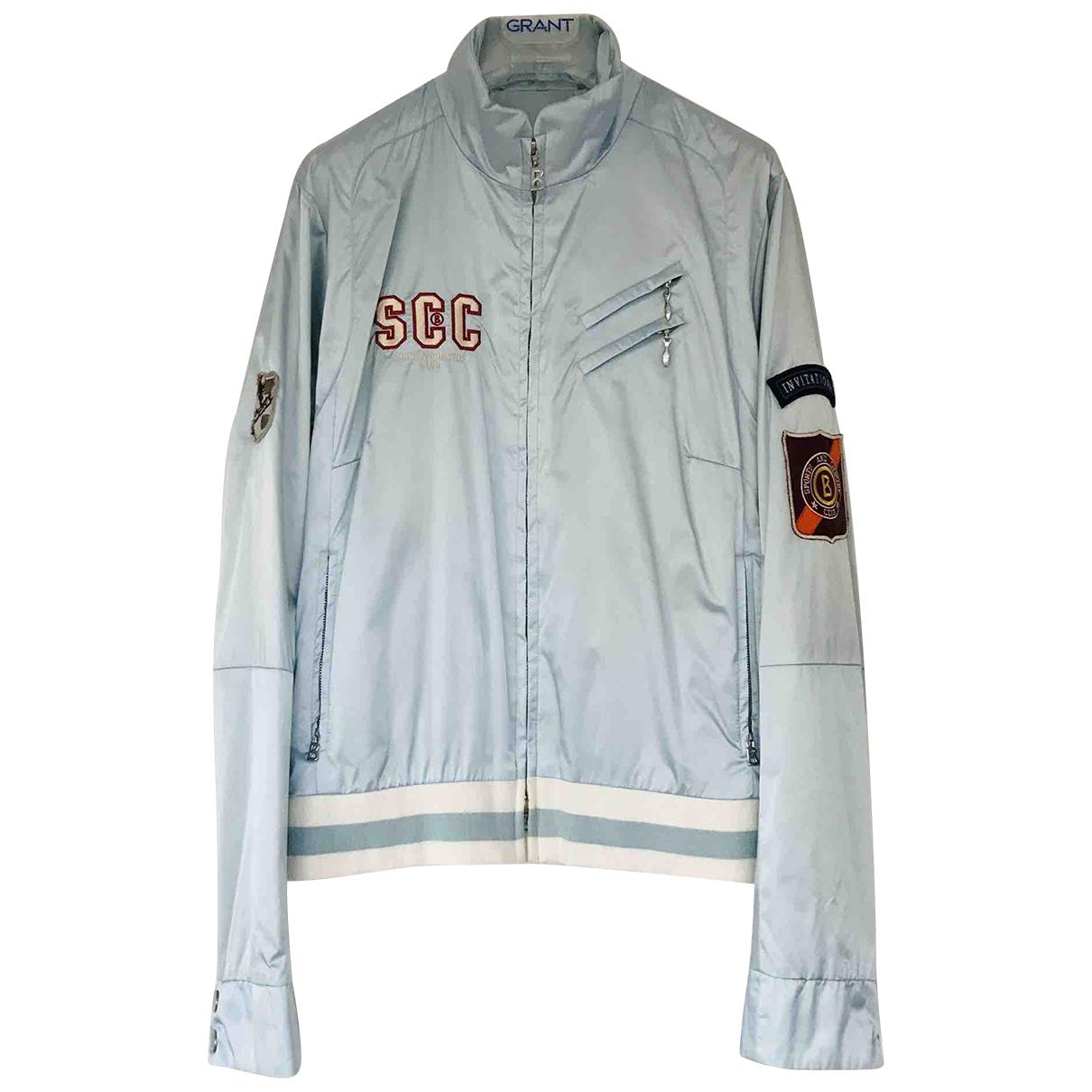 Bogner \N Blue Leather jacket for Women 12 US