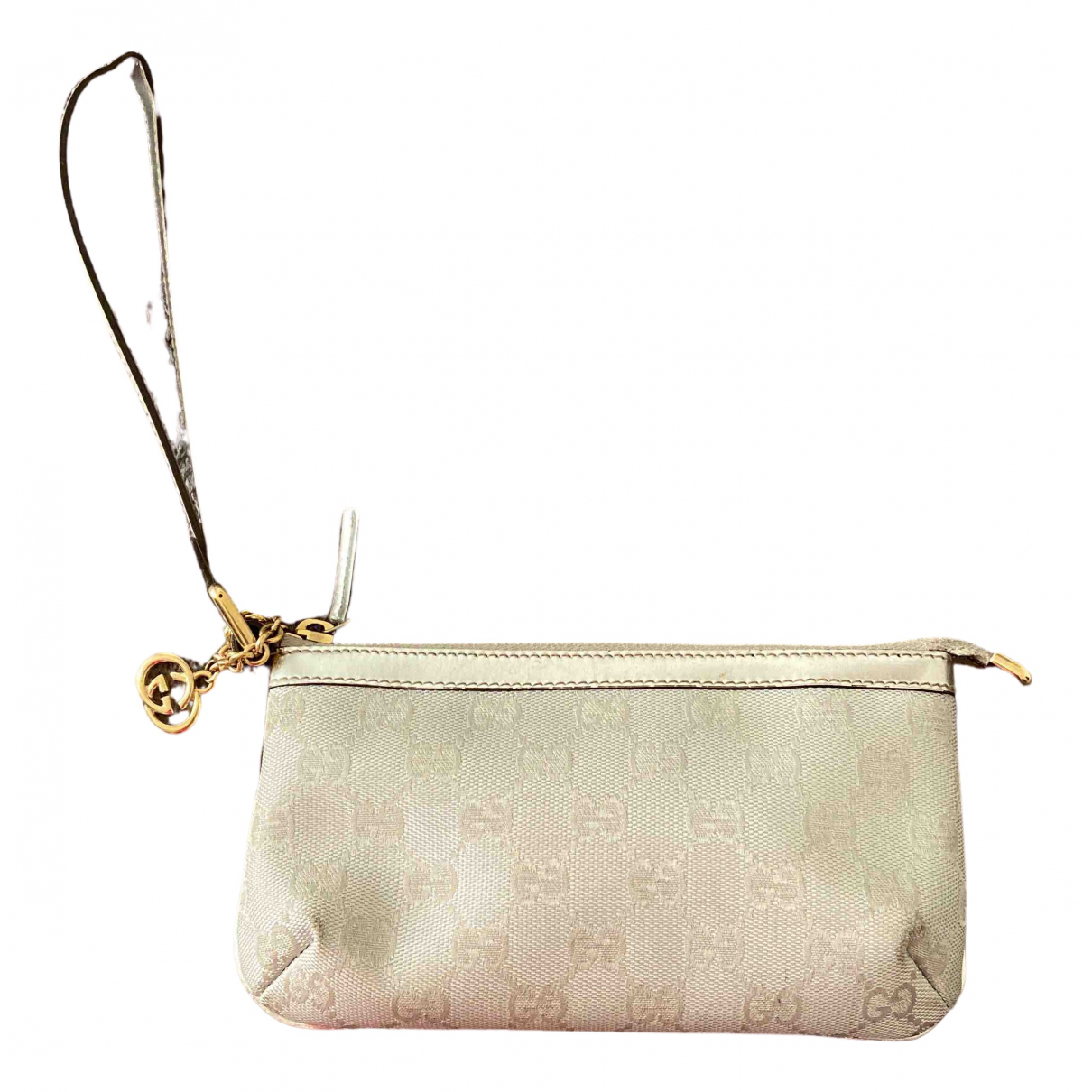Gucci \N Silver Cloth Purses, wallet & cases for Women \N