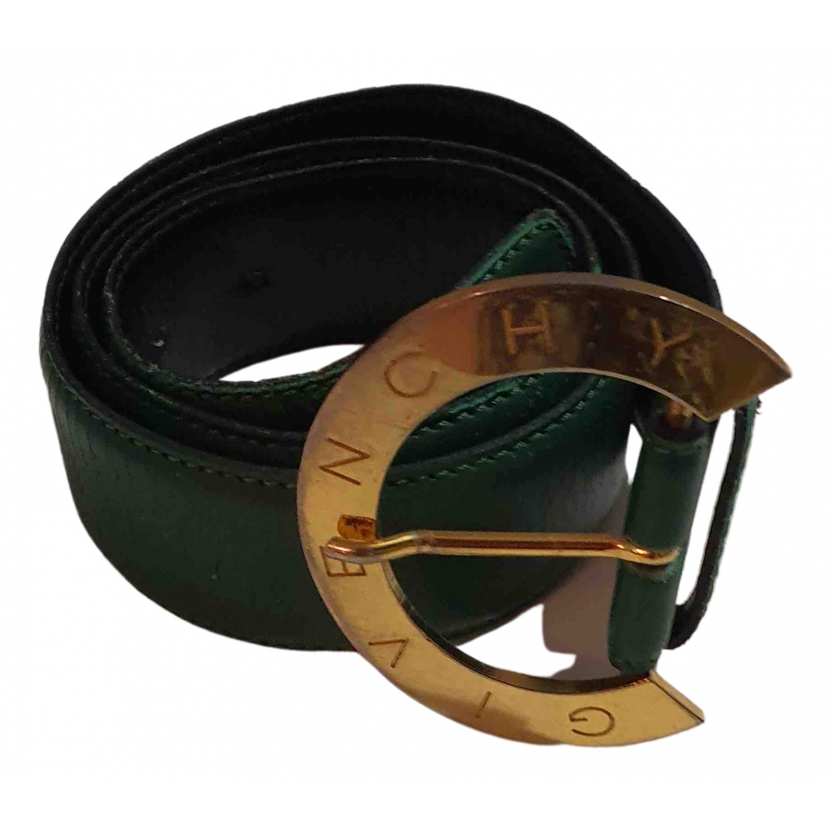 Givenchy \N Green Leather belt for Women S International