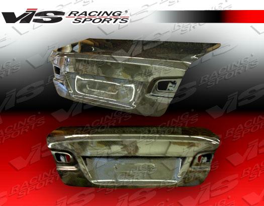 VIS Racing 07BME922DOE-020C Carbon Fiber OEM Trunk Lid BMW 330i E92 2dr 05-11